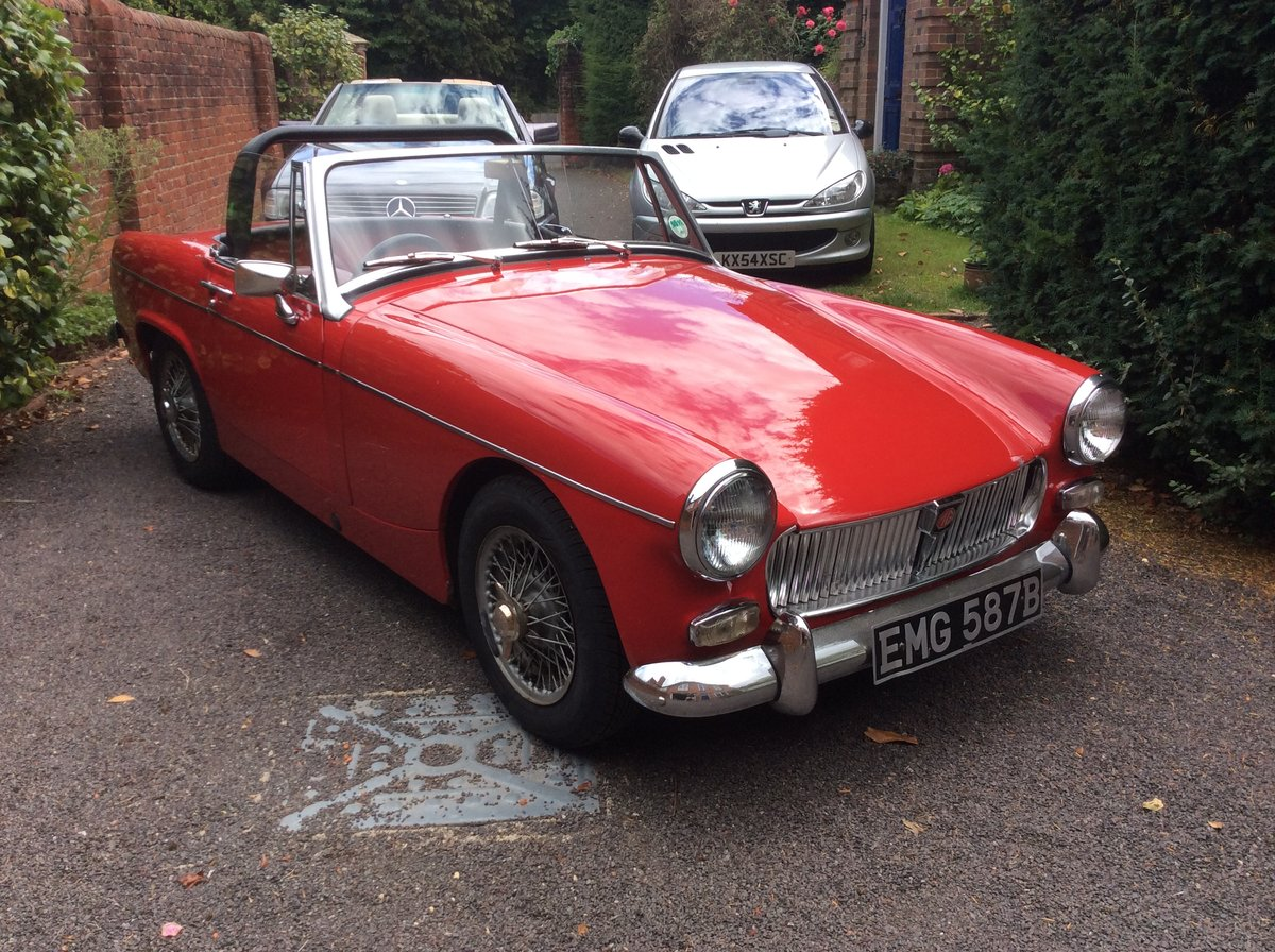 1964 MG  Midget For Sale (picture 1 of 6)