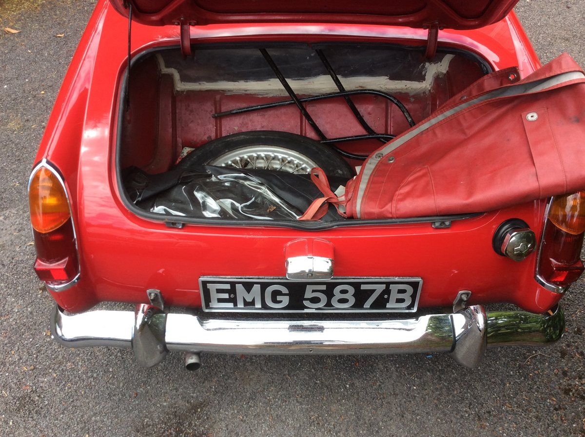 1964 MG  Midget For Sale (picture 5 of 6)