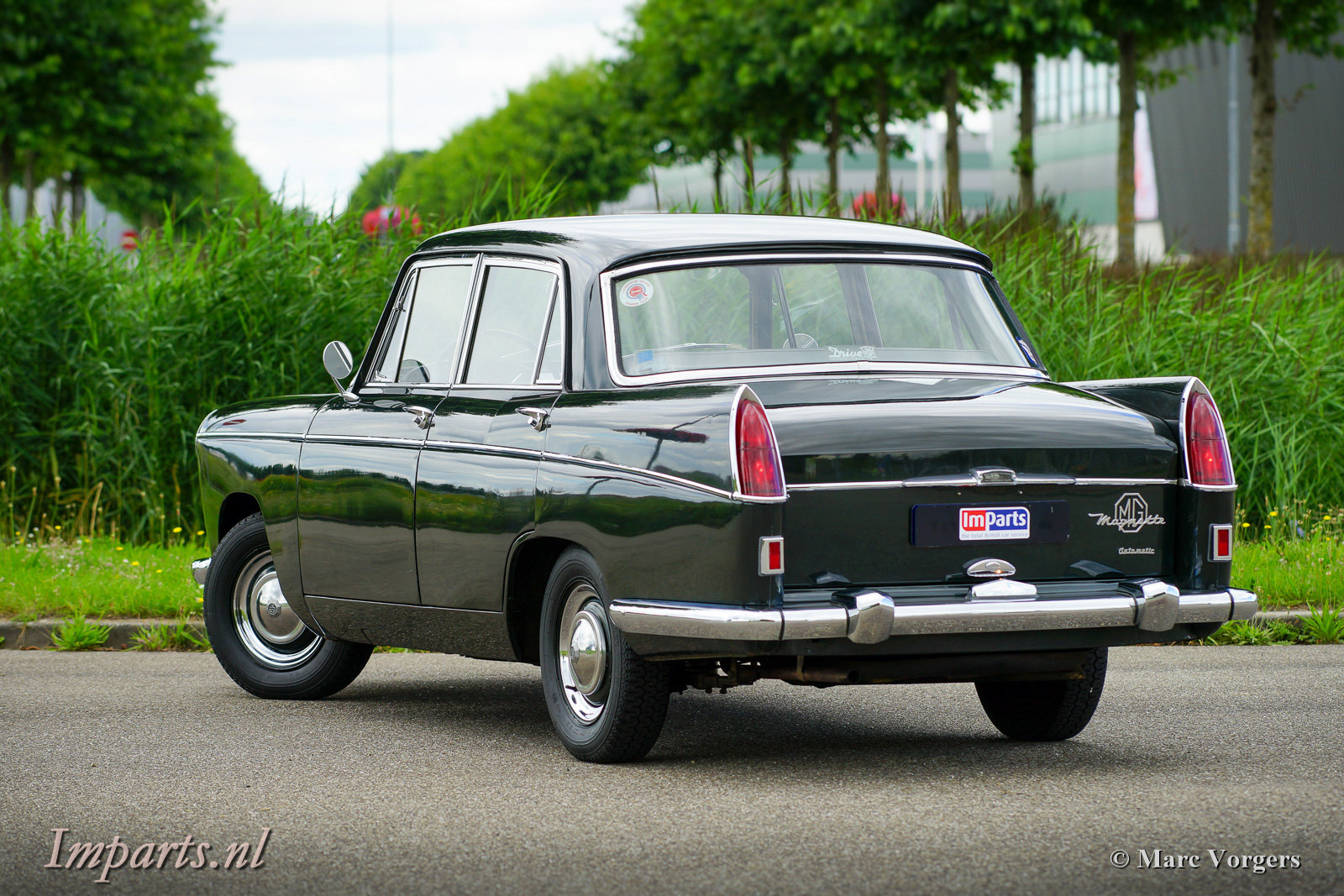 Unique Mg Magnette Mk IV Automatic (LHD) 1963 For Sale (picture 6 of 6)
