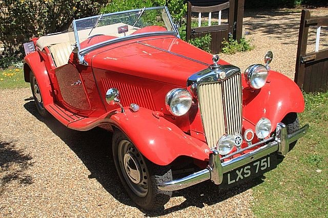 MG TD Midget 1952 For Sale (picture 1 of 6)