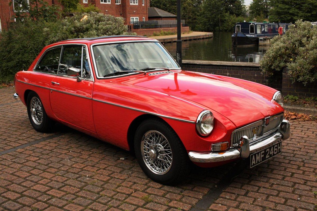 1970 MGB GT Mk2 - Flame Red, Older Restoration - MG BGT MGBGT SOLD (picture 1 of 6)