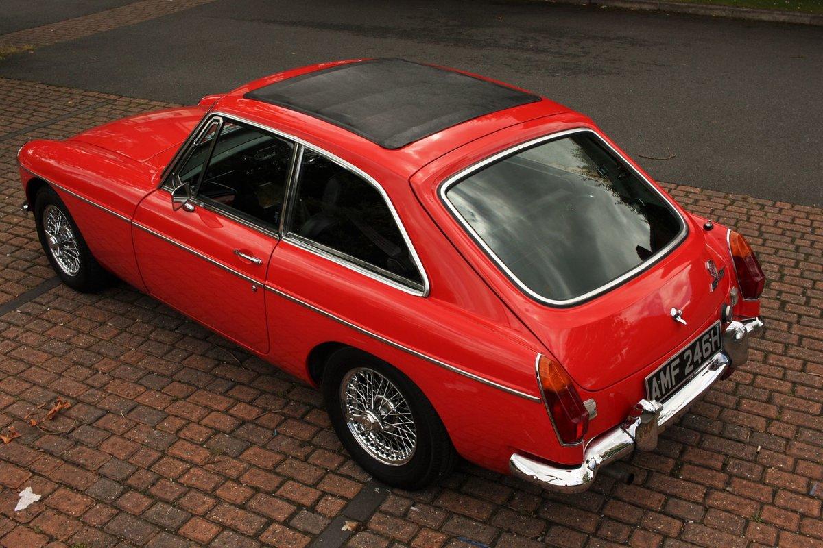 1970 MGB GT Mk2 - Flame Red, Older Restoration - MG BGT MGBGT SOLD (picture 2 of 6)