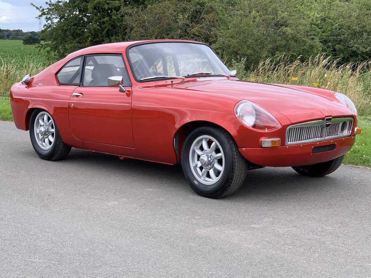 1964 MG B Berlinette by Jacques Coune  For Sale (picture 1 of 6)