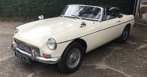 Very original MGB roadster