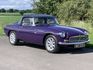 1975 MGB V8 roadster manual O/d