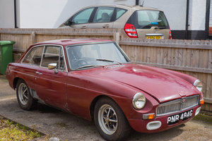1969 MGB Damask Red for Restoration