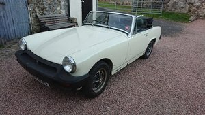 1977 MG midget solid car