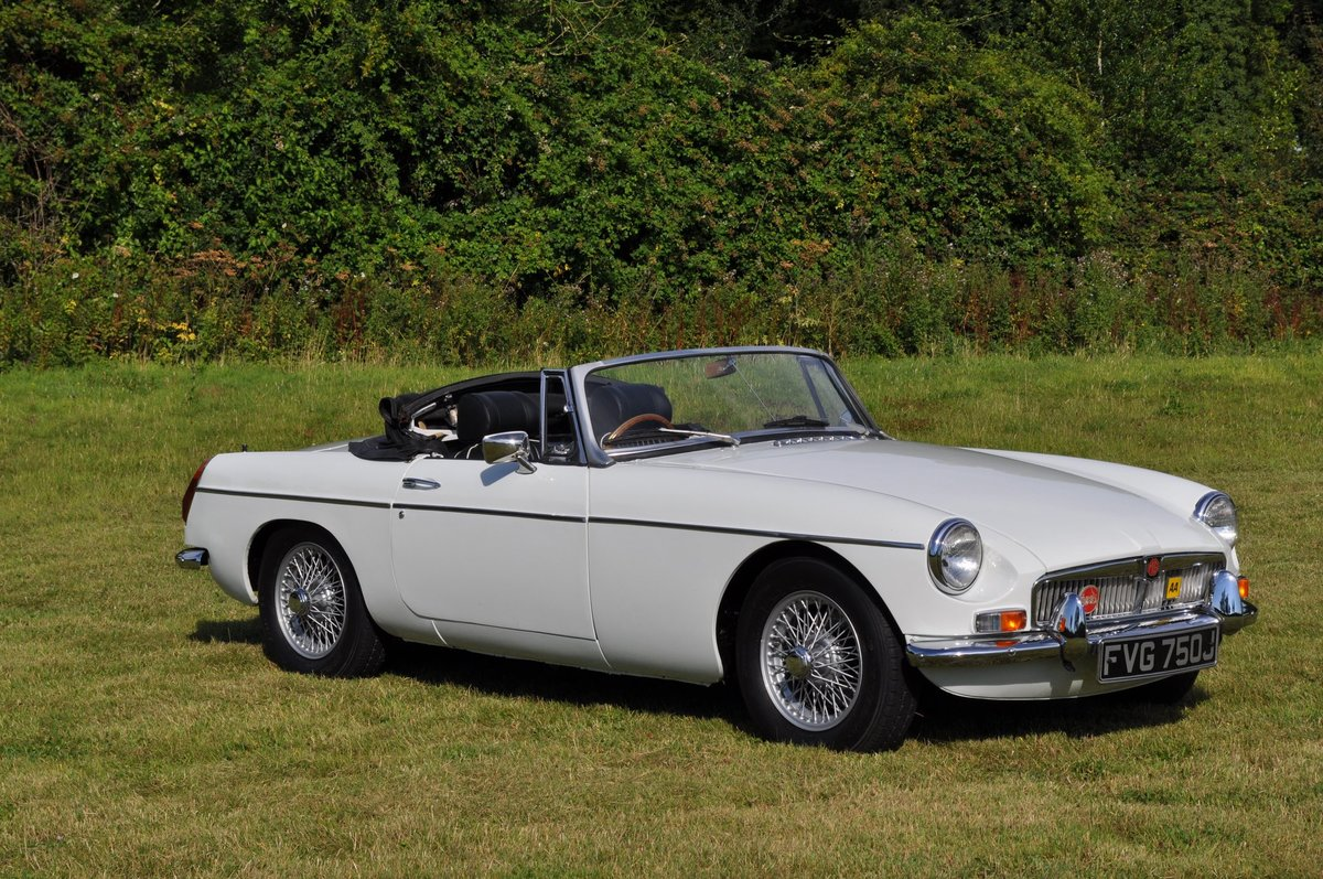 1971 MGB Roadster With Overdrive For Sale (picture 1 of 6)