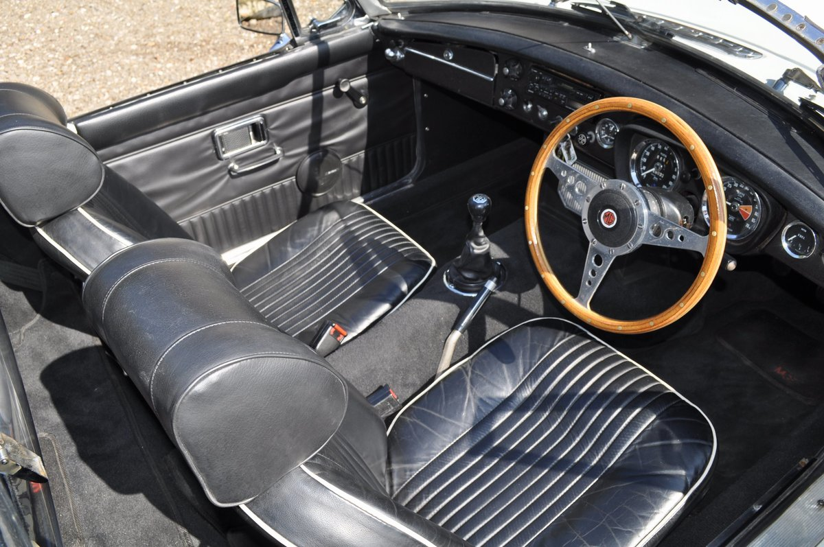 1971 MGB Roadster With Overdrive For Sale (picture 5 of 6)