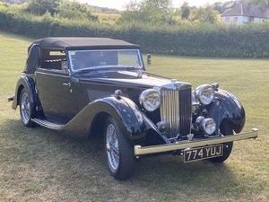 1938 MG SA Tickford Drop Head Coupe For Sale