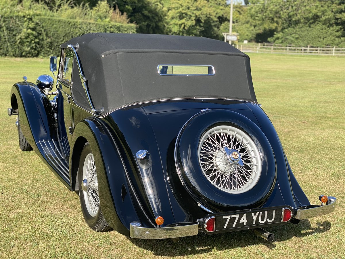 1938 MG SA Tickford Drop Head Coupe For Sale (picture 14 of 20)