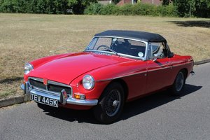 MG B Roadster 1972 - To be auctioned 30-10-20