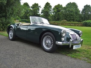 1960 Magic MG-A!