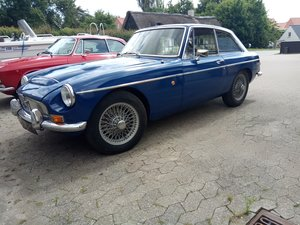 "1969 MGC GT Great running ""barnfind"" with MOT"