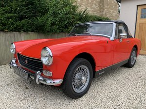 1973/M MG Midget MkIII 1275cc in Red  For Sale