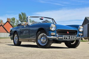1972/K MG Midget MkIII 1275cc in Teal Blue NOW SOLD! For Sale