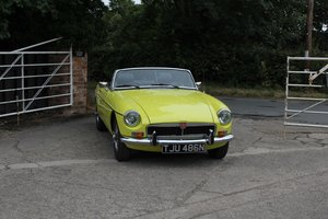 1974 MGB Roadster, Excellent Driver, Full Respray 2015