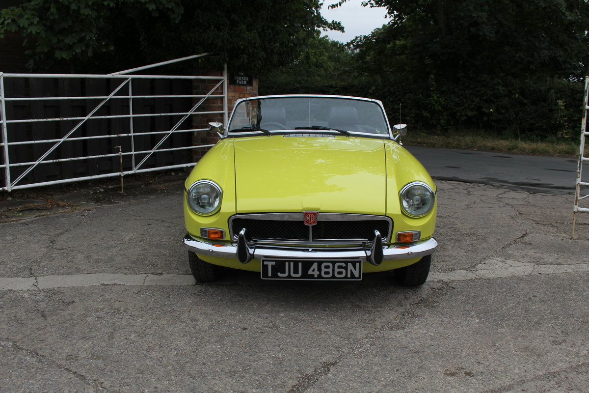 1974 MGB Roadster, Excellent Driver, Full Respray 2015 SOLD (picture 2 of 18)