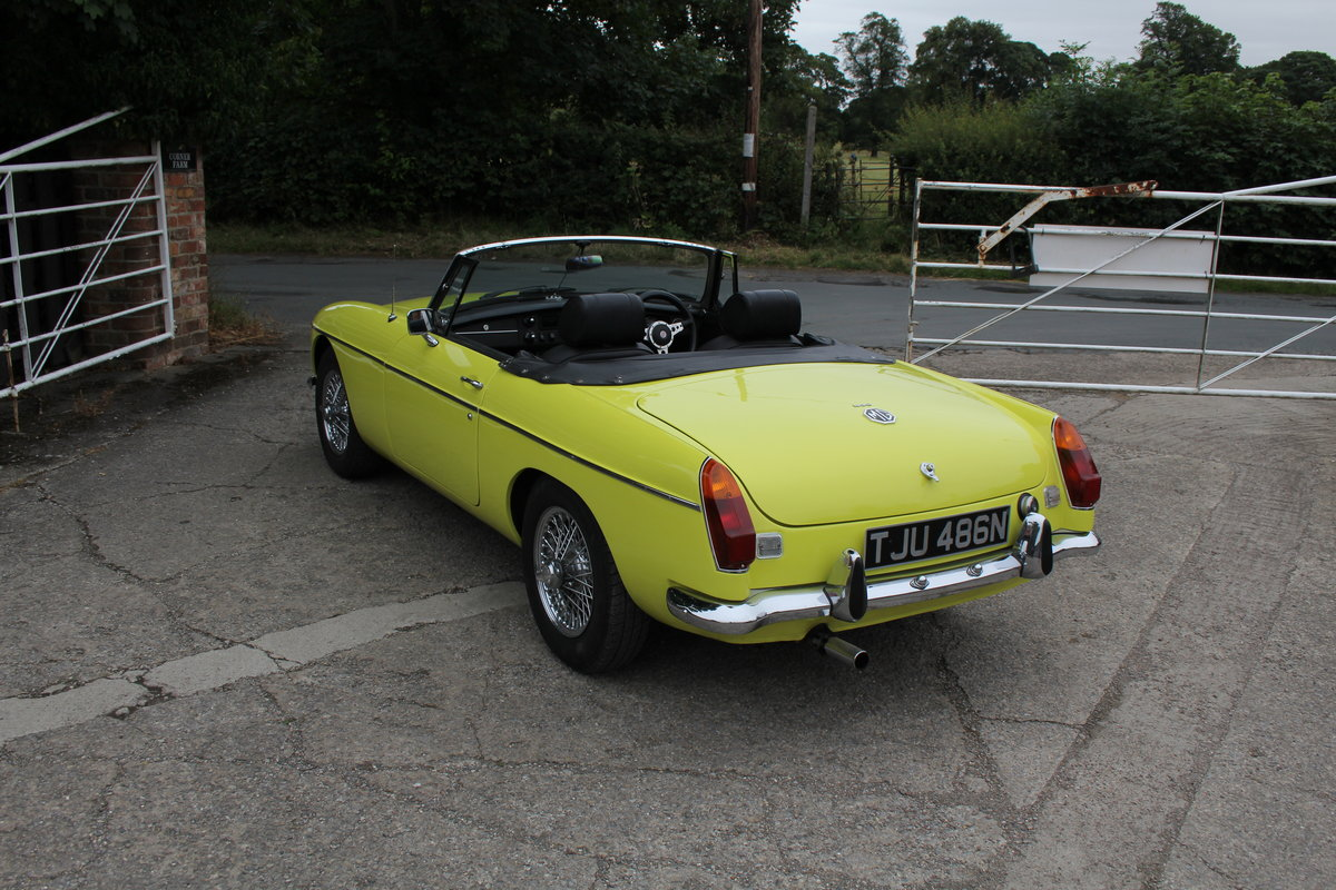 1974 MGB Roadster, Excellent Driver, Full Respray 2015 SOLD (picture 4 of 18)