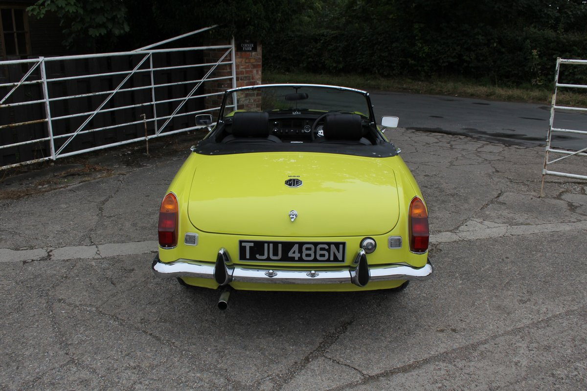 1974 MGB Roadster, Excellent Driver, Full Respray 2015 SOLD (picture 5 of 18)