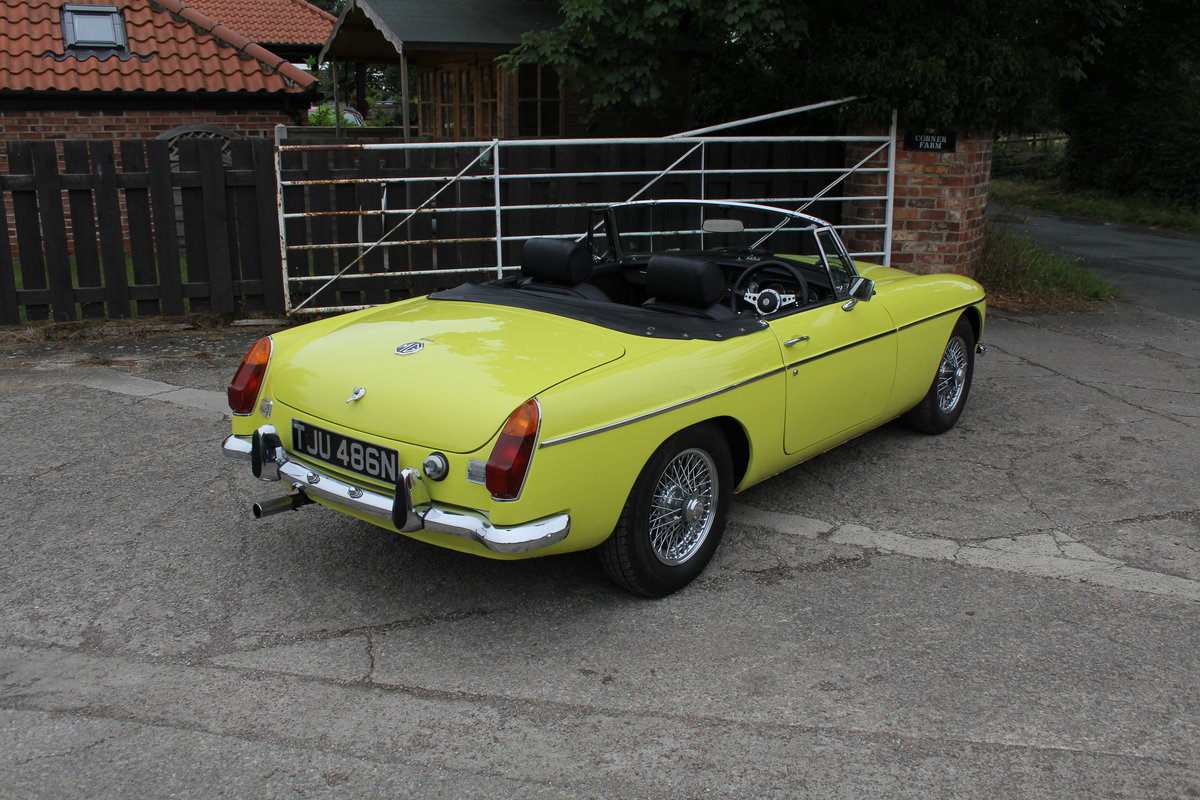 1974 MGB Roadster, Excellent Driver, Full Respray 2015 SOLD (picture 6 of 18)