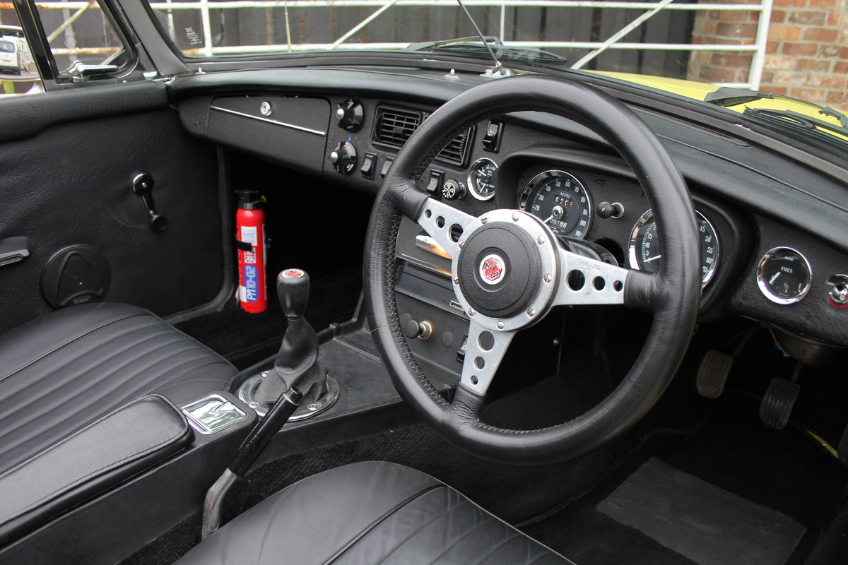 1974 MGB Roadster, Excellent Driver, Full Respray 2015 SOLD (picture 7 of 18)