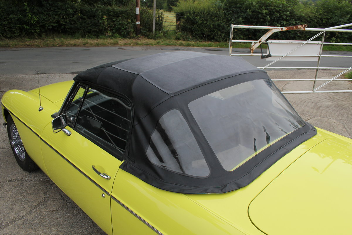 1974 MGB Roadster, Excellent Driver, Full Respray 2015 SOLD (picture 18 of 18)