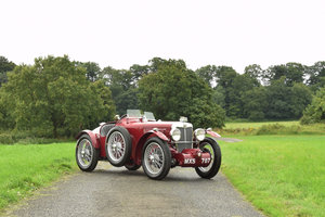 1935 MG PB Supercharged sports