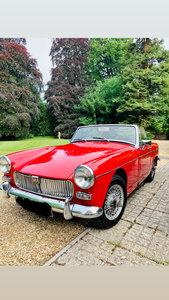 1965 MG Midget beautiful car 1098cc