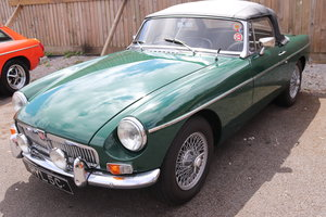 Picture of 1965 MGB Roadster, MK1, BRG, Wires and overdrive For Sale