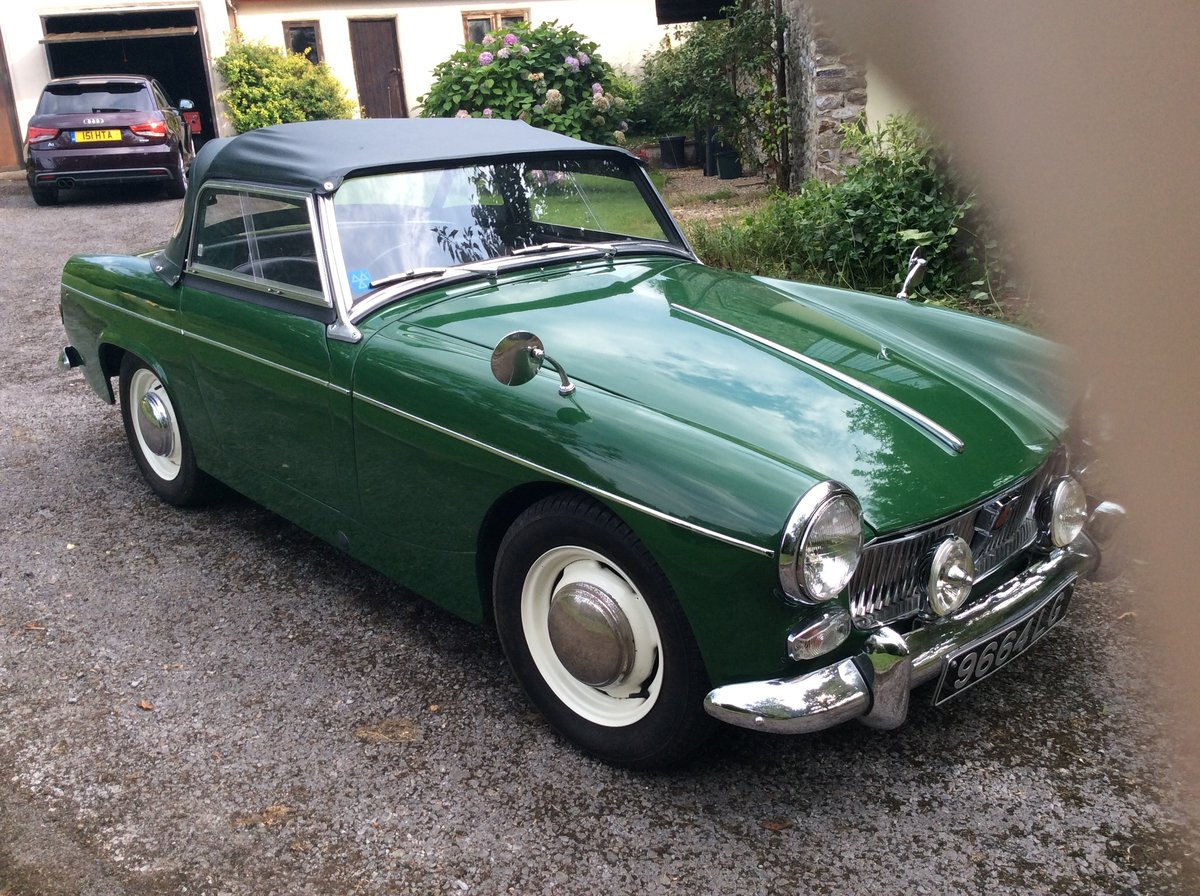 1963 Green MG Midget Now SOLD SOLD (picture 2 of 6)
