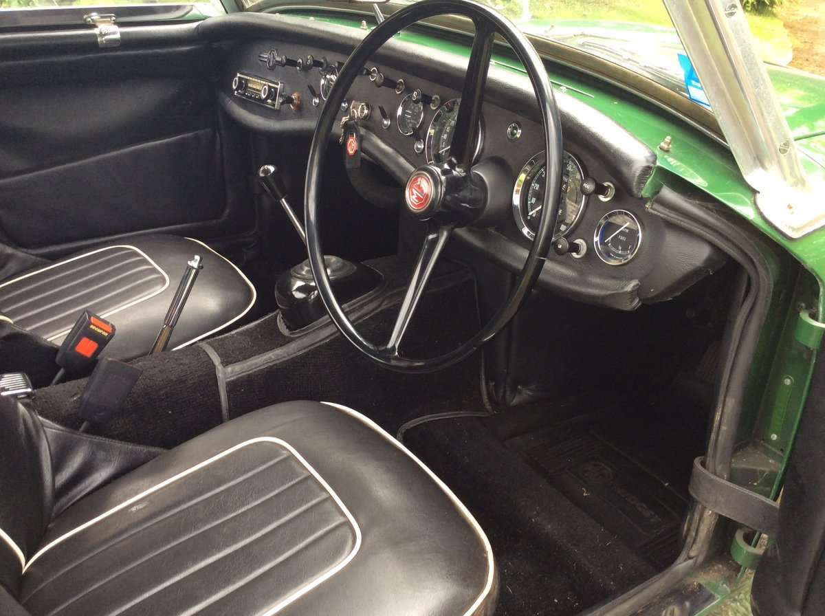 1963 Green MG Midget Now SOLD SOLD (picture 4 of 6)