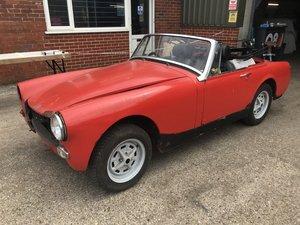 1972 MG Midget 1275 for full restoration