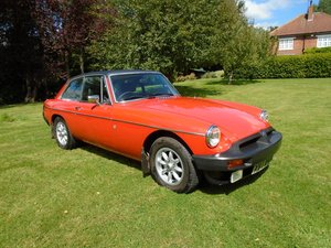 1976 MGB GT with Overdrive  For Sale