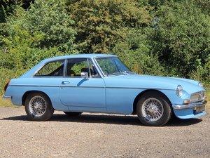 MG B GT, 1970, Iris Blue