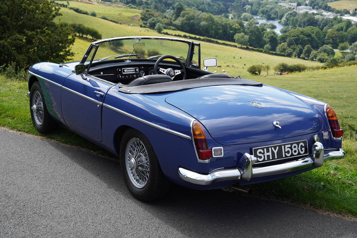 1968 MGB Roadster - Original UK Numbers Matching Car For Sale (picture 7 of 10)