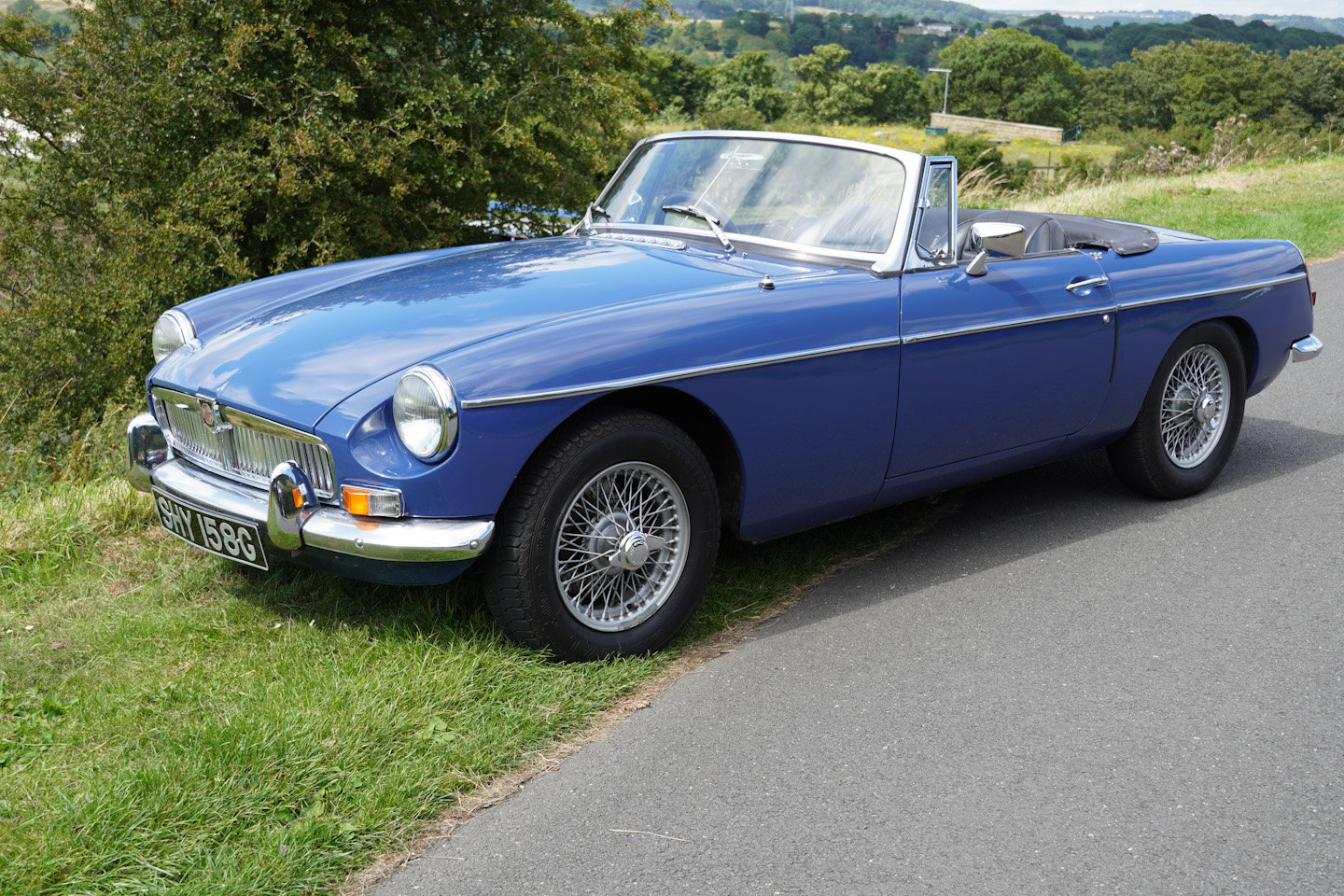 1968 MGB Roadster - Original UK Numbers Matching Car For Sale (picture 9 of 10)