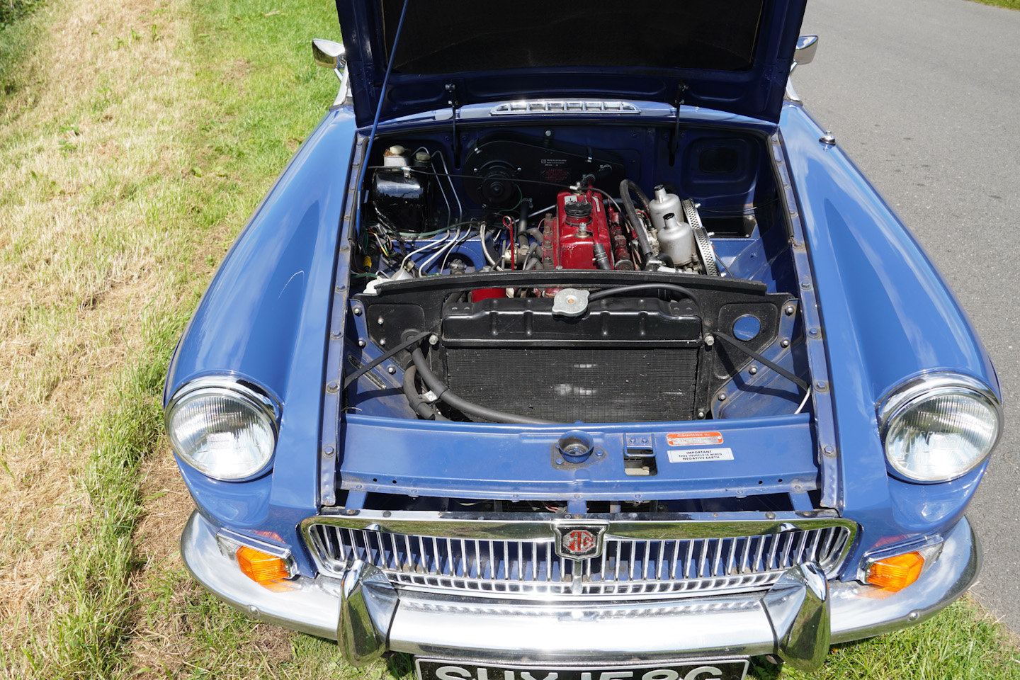 1968 MGB Roadster - Original UK Numbers Matching Car For Sale (picture 10 of 10)