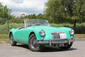1958 MG A 1500 Roadster just 2 previous owners UK RHD