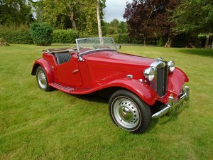Picture of 1953 MG TD Matching Numbers  SOLD