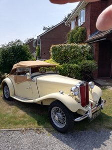 1952 Immaculate MG TD