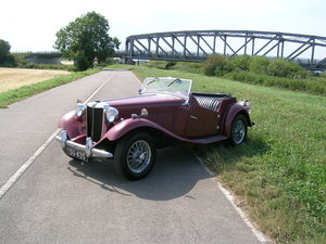 1951 MG TD Roadster Historic Vehicle