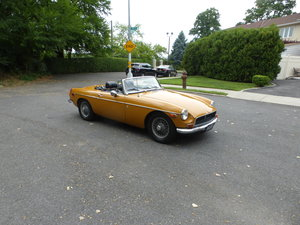 1972 MG B Roadster With Overdrive Nice Driver -