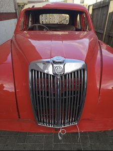 1957 MG Magnette Project.