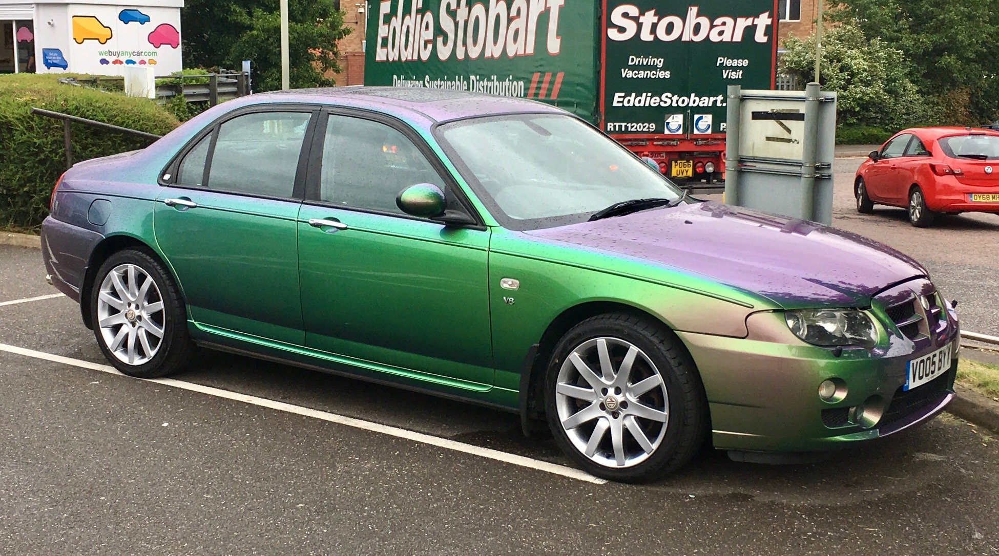 2005 MG ZT 400 SE Roush Supercharged V8 Monogram colour For Sale (picture 1 of 6)