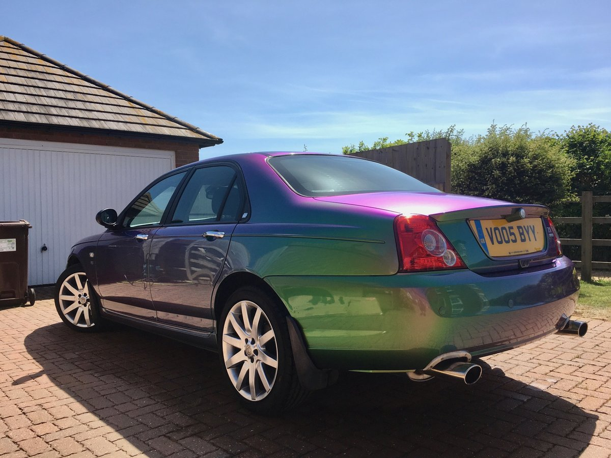 2005 MG ZT 400 SE Roush Supercharged V8 Monogram colour For Sale (picture 2 of 6)