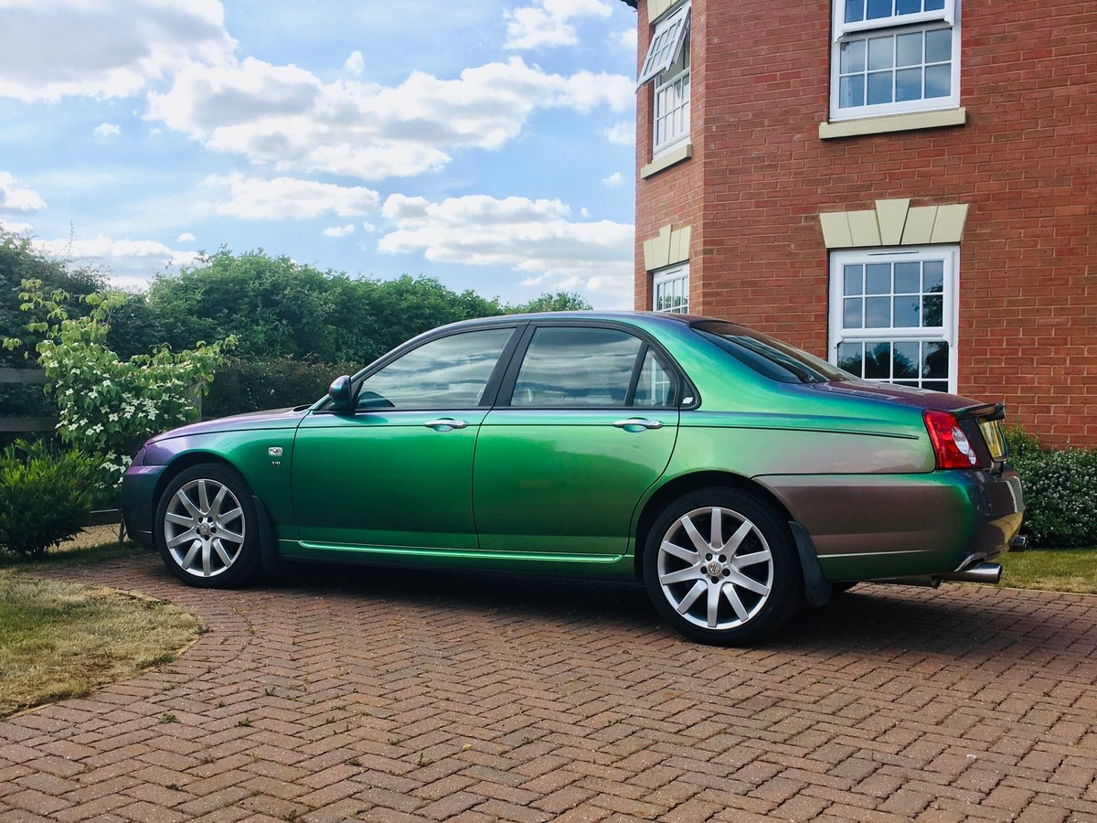 2005 MG ZT 400 SE Roush Supercharged V8 Monogram colour For Sale (picture 5 of 6)