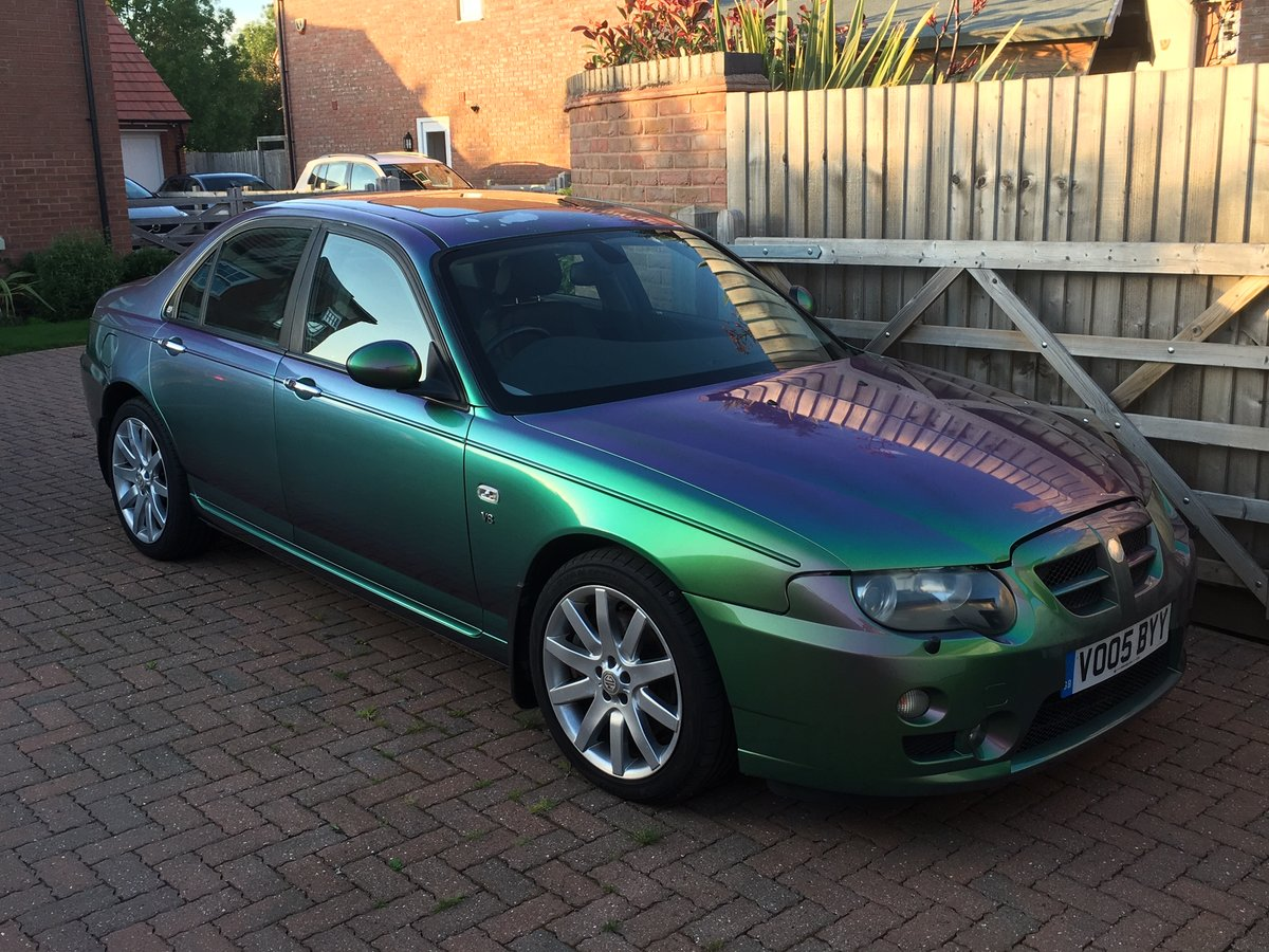 2005 MG ZT 400 SE Roush Supercharged V8 Monogram colour For Sale (picture 6 of 6)