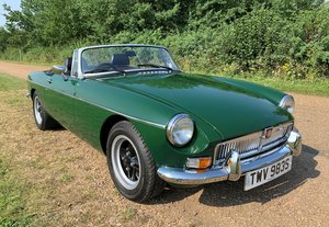 MGB Roadster older nut and bolt restoration O/D