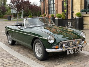 1965 MGB Roadster - Wire Wheels - Overdrive - Heritage Shell